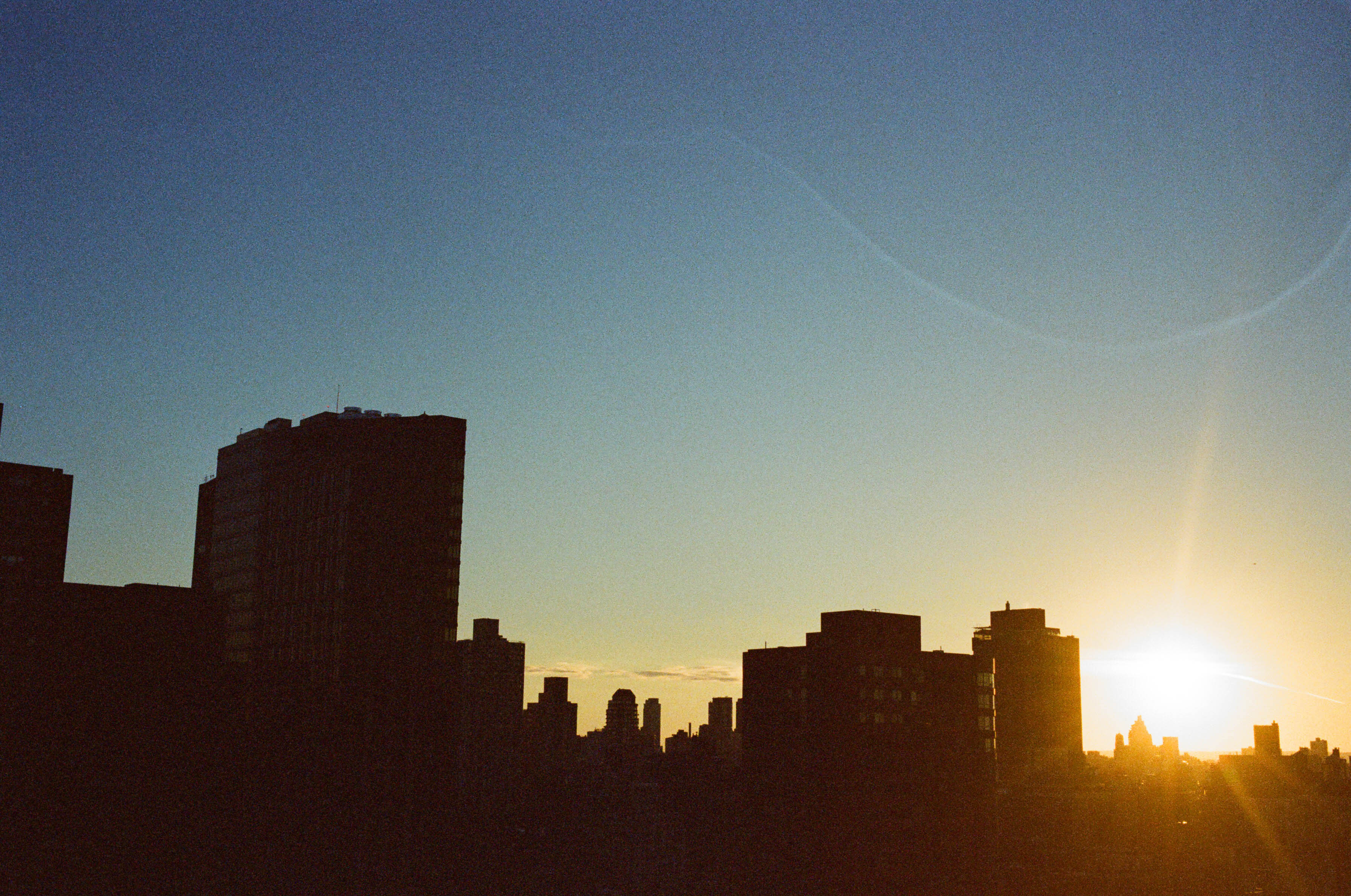 Summer Sunset  - E 95th Street, NYC