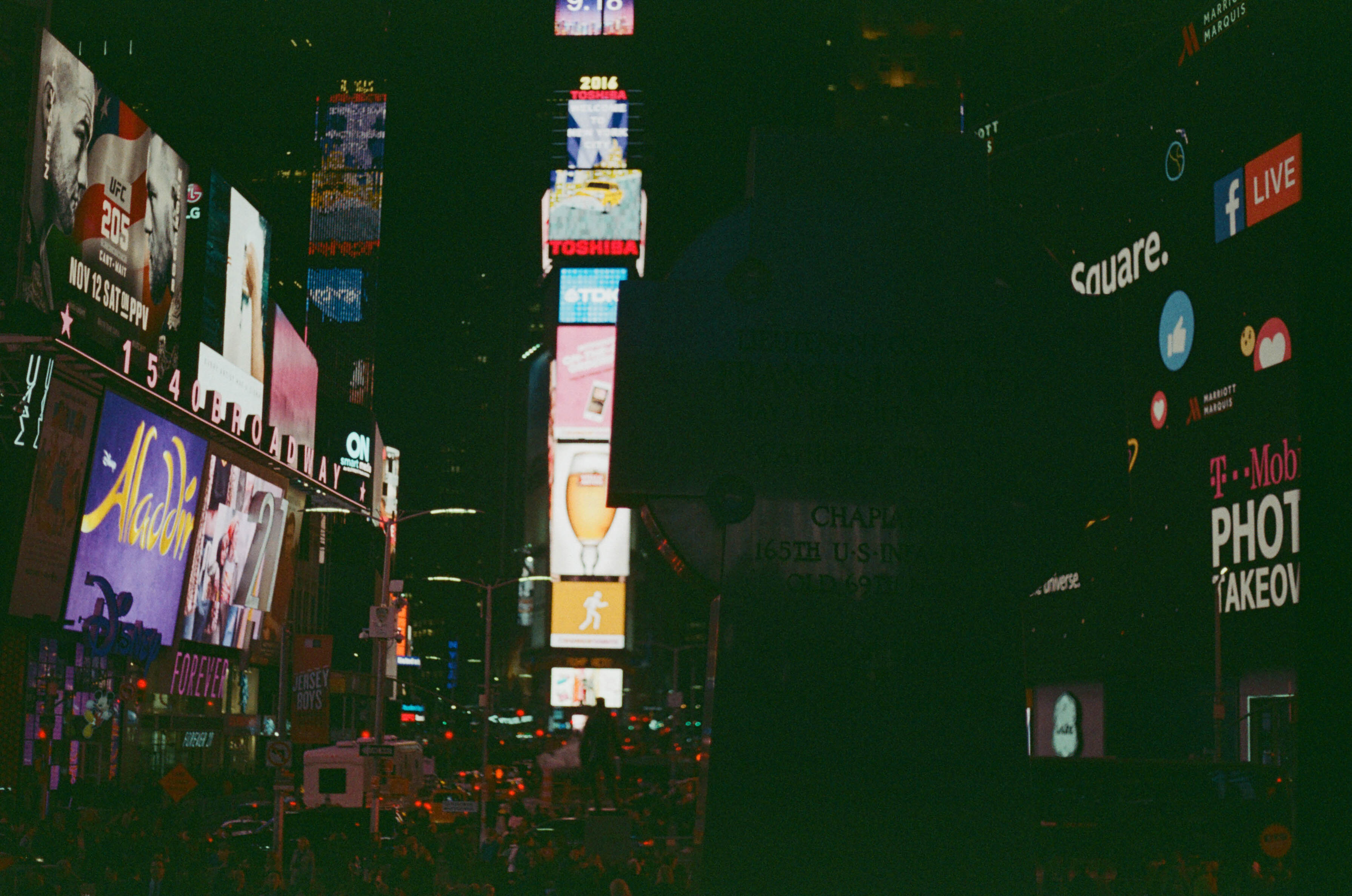 Bright Lights In the Big City  - Times Square, NYC