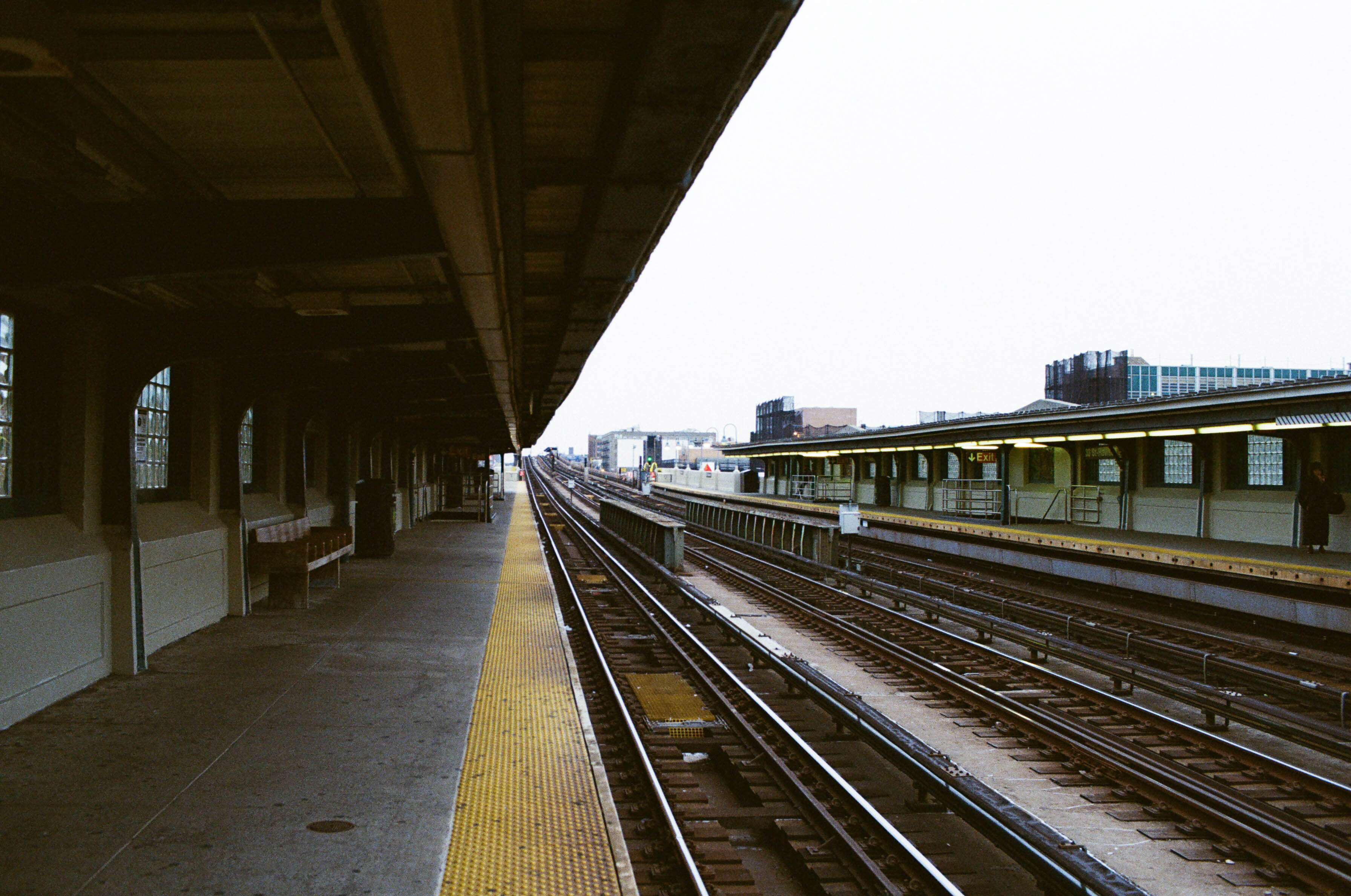 Waiting for a Train  - Queens, NY