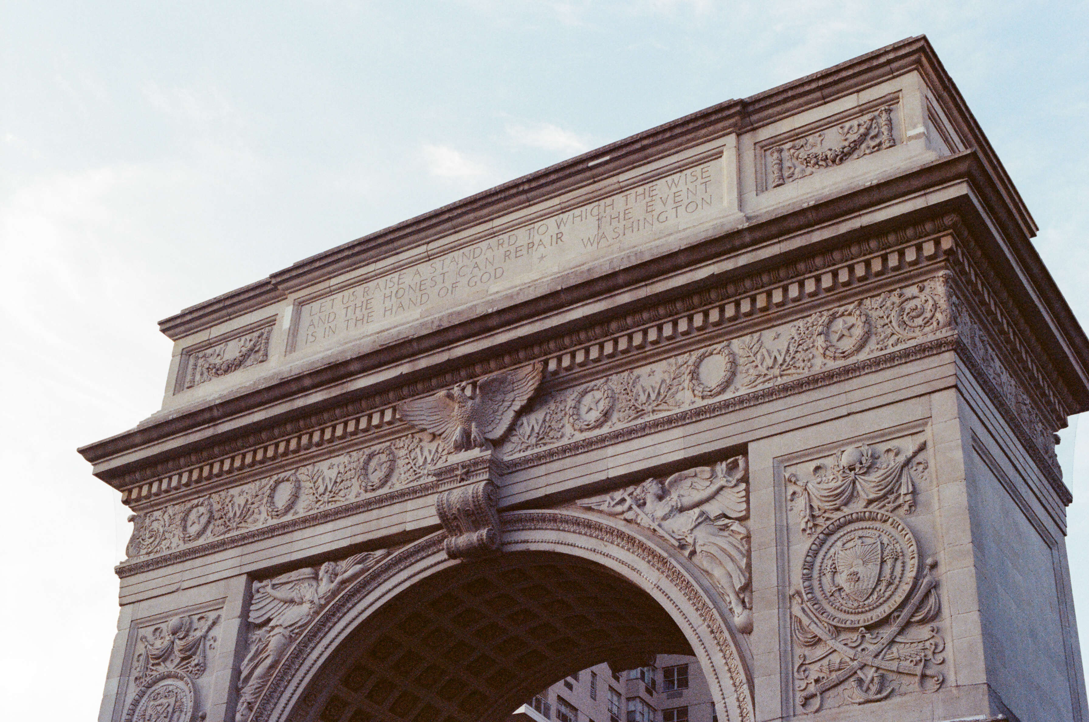 The Arch.  - Washington Square Park, NYC
