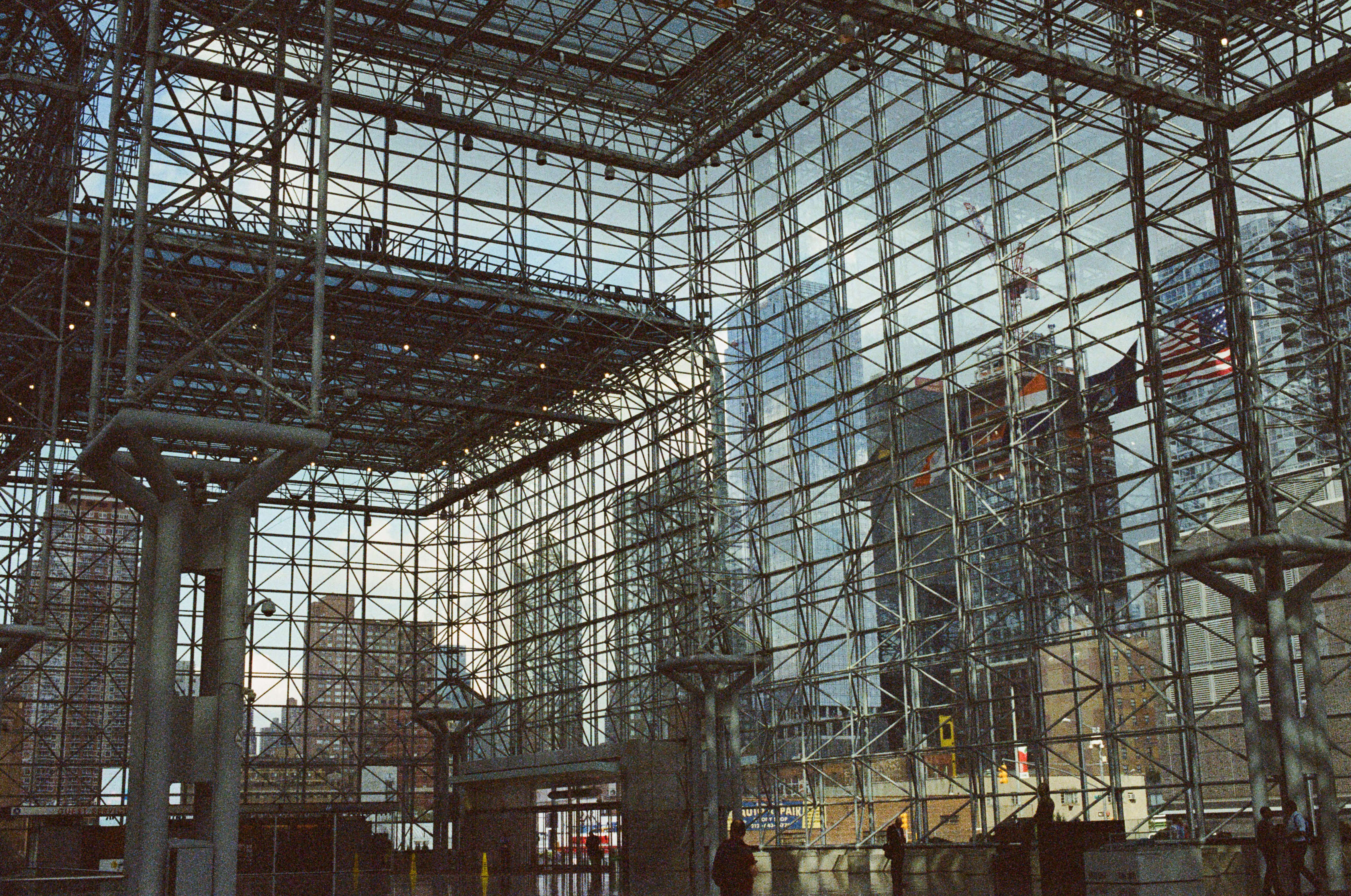 Lines  - Javits Convention Center, NYC