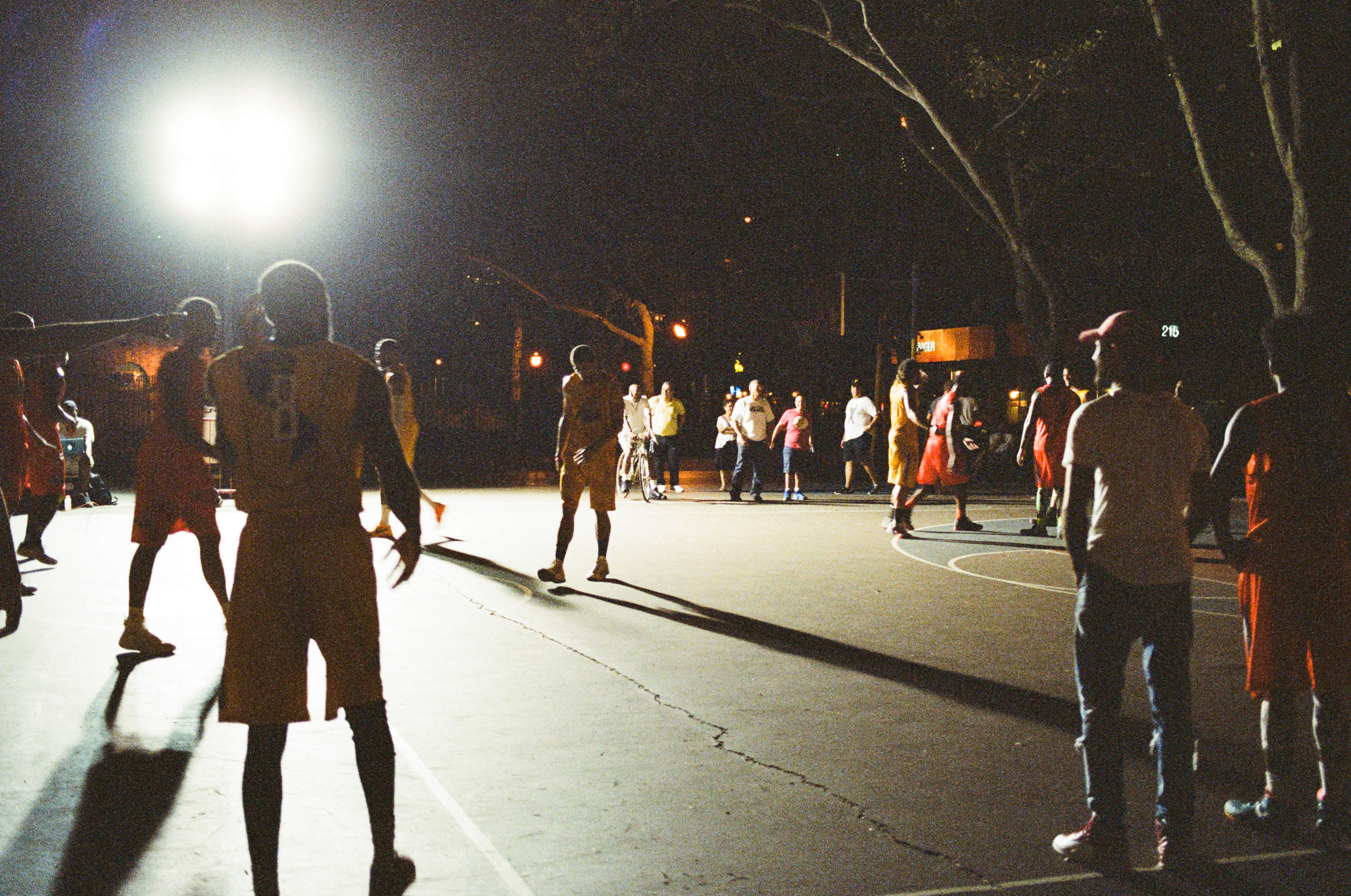 Late Night Basketball  - Lower East Side, NYC