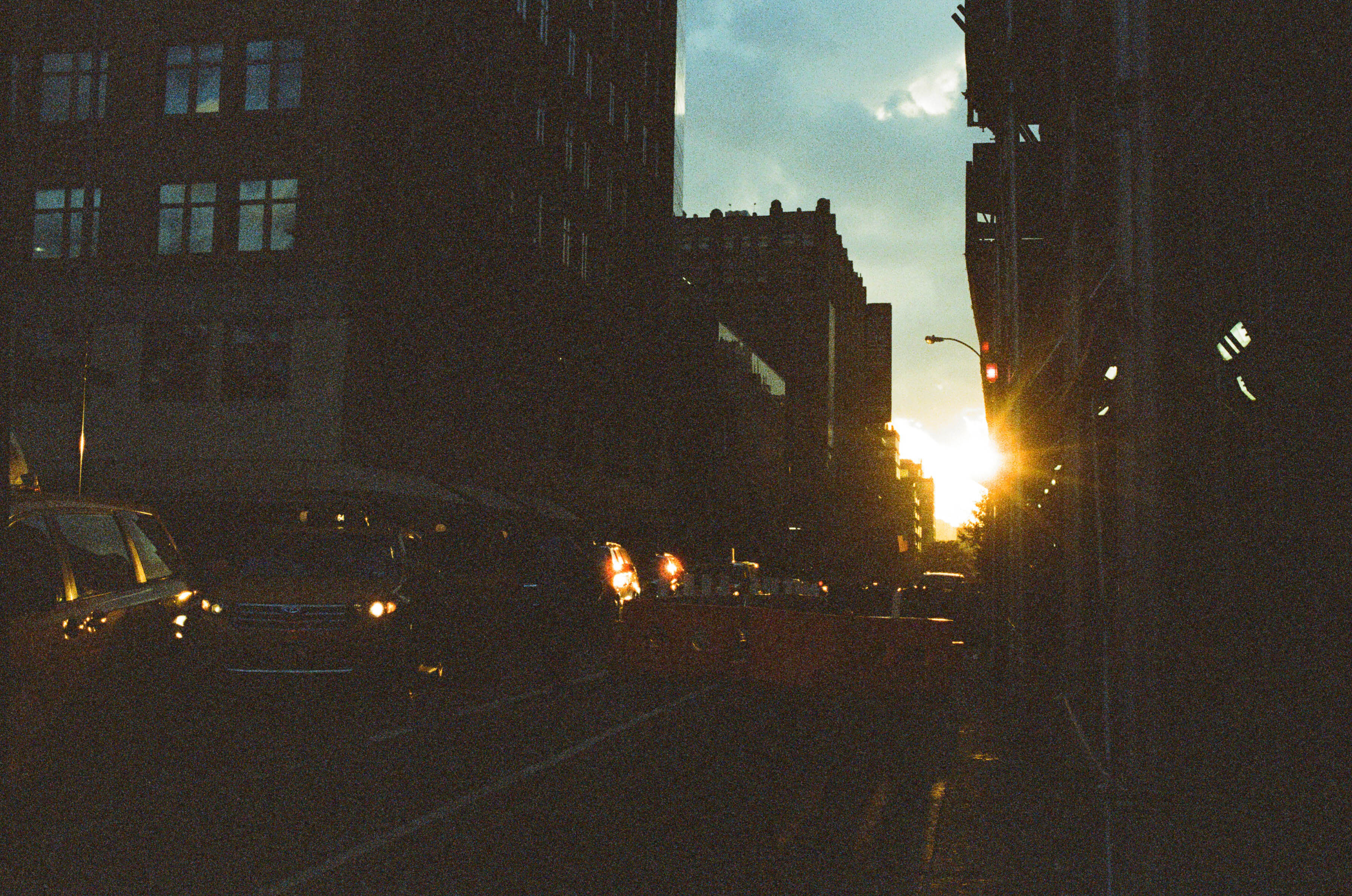 Sunset  - Spring Street, NYC