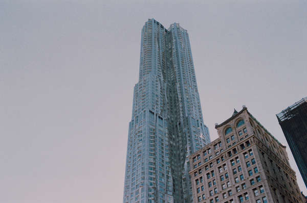 Gehry Building  - FiDi, NYC